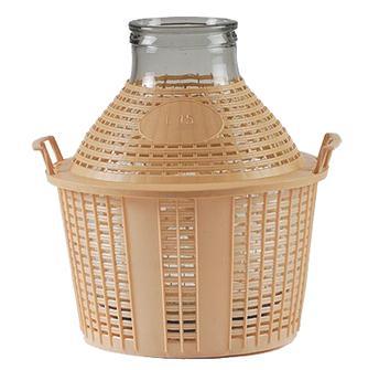 Glasbehälter mit großer Öffnung, 15 Liter