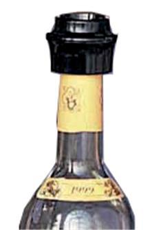 Vakuumverschlüsse für Flaschen, 2 Stk.