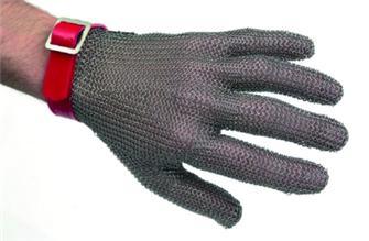 Schnittschutzhandschuh aus Edelstahl, Größe 6/6½