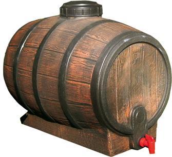 Mostfass, 50 l, in Nachahmung eines Weinfasses