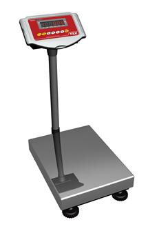 Elektronische Waage mit Stativ 150 kg