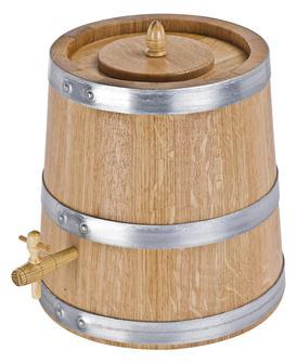 Essigbehälter aus Eichenholz, 10 Liter