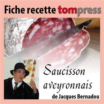 Rezept für Landwurst nach Aveyroner-Art von Jacques Bernadou