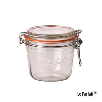 Le Parfait® Einmachgläschen, 500 Gramm, 6 Stück