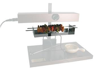 Spieße-Option für Raclette-Ofen, ½ Käse