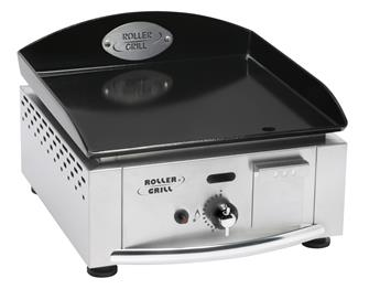 Gasgrill, 1 Brenner, 40 cm, 2 750 W, emailliert, 5 mm