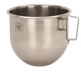 Edelstahlschüssel für die Küchenmaschine, 5 Liter