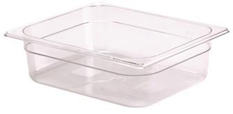 Gastrobehälter BPA-frei, GN1/2, Höhe 10cm, aus Copolyester