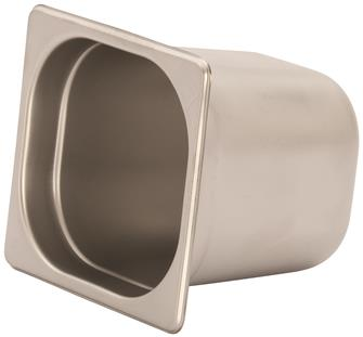 Gastronorm-Behälter Edelstahl, GN1/6, Höhe 15cm, EN631