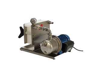 Filterpumpe mit 7 Filterplatten für für den Verzehr vorgesehenen Flüssigkeiten