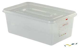 Fest schließender Kunststoffbehälter GN1/1, 28l, Höhe 20cm