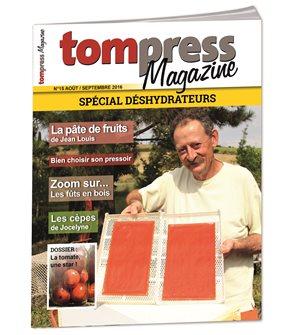 Tom Press Magazine août-septembre 2016