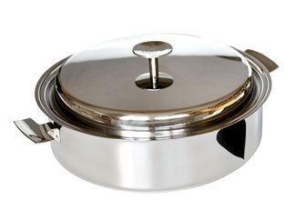 Sauteuse Baumstal inox induction 20 cm avec couvercle