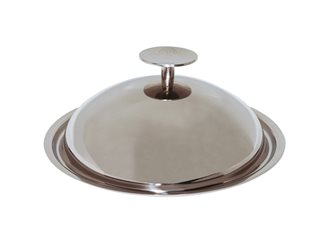 Couvercle cloche Baumstal inox 20 cm