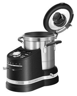 Robot culinaire cuiseur tout-en-un noir