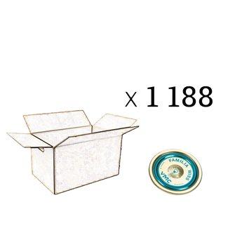 Deckel Familia Wiss® 82 mm, Packung mit 1188 Stück