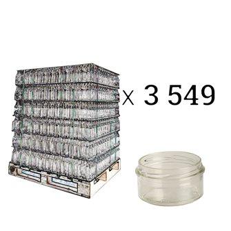 Pastetenglas für Twist-off-Deckel, 130 g, 12 Stück