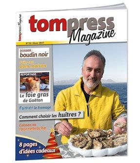 Tom Press Magazine hiver 2017