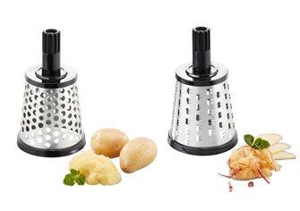 Trommelreiben aus Edelstahl für Käse und Kartoffeln Gefu