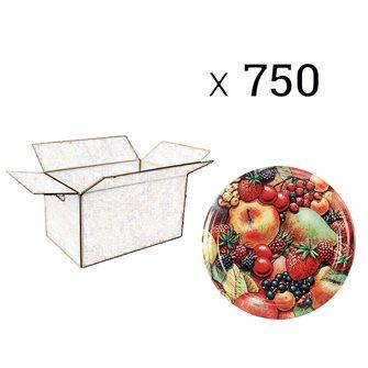 Capsules Twist-off confiture Tutti Frutti Francia Diam 82 par 740