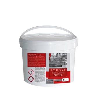 Fettlösendes Reinigungspulver für Fritteuse 5 Kg