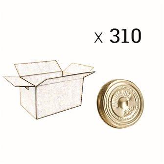 Verschluss Familia Wiss® 100 mm, Packung mit 310 Stück