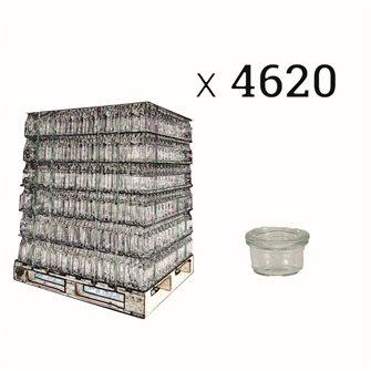 Weck Sturzglas 50 ml Palette 4620 Stück