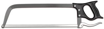 Scie de boucher Sanelli Ambrogio à attache rapide 45 cm acier laqué lame inox