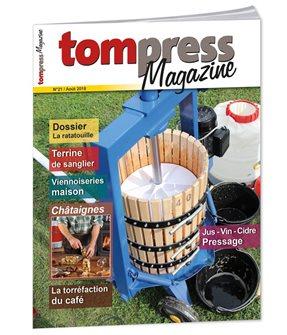 Tom Press Magazine août 2018