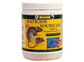 Mäuse-/Rattengift auf Basis von geschältem Hafer 1,4kg