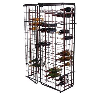 Casier 150 bouteilles avec armoire de fermeture