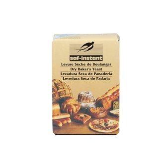 Levure de boulanger instantanée pour pain maison 5 sachets de 11 g.