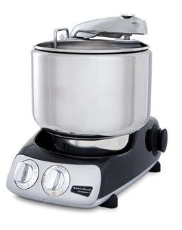Schwedische Multifunktions-Küchenmaschine, schwarz glänzend